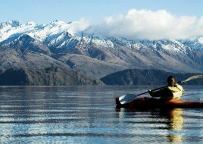 Katrina-Kayaking New Zealand Lake Wanaka